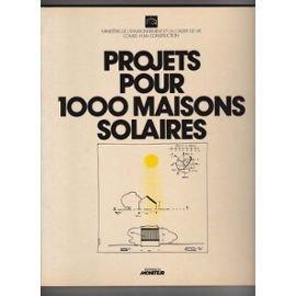 Projets pour 1000 maisons solaires
