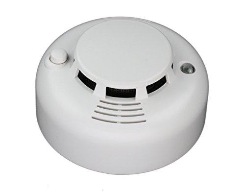 Preisvergleich Produktbild LUPUSEC Rauchmelder, EN 14604 für die XT Smarthome Alarmanlagen, kompatibel mit allen XT Funk Alarmanlagen, Alarmierung per APP, SMS, E-Mail, uvm., batteriebetrieben