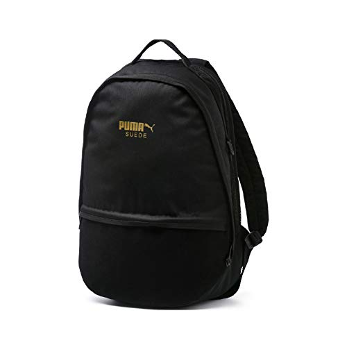 Puma Suede Backpack Rucksack, Black, OSFA (Rucksack Black Suede)