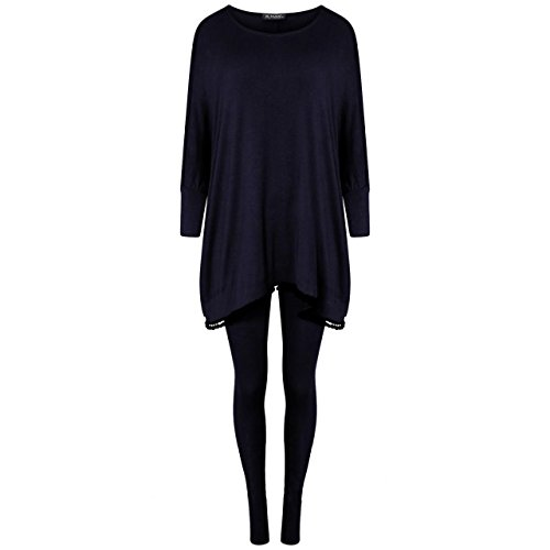 Gugu Fashion -  Tuta da ginnastica  - Donna Navy