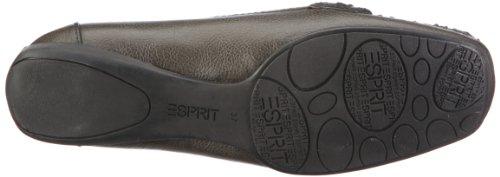 ESPRIT Patrizia Loafer U10301 Damen Mokassins Grau/Lead Grey