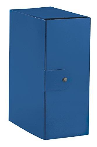 Esselte cartella a scatola per l'archiviazione di documenti a lungo termine, a4, dorso 15 cm, blu, 1 pezzo