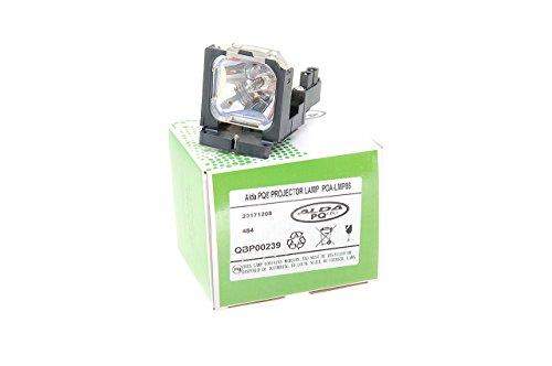 Alda PQ Beamerlampe 610 317 5355 / POA-LMP86 für SANYO LP-Z1X(S), LP-Z3(S), PLV-Z1X, PLV-Z3 Projektoren, Lampenmodul mit Gehäuse