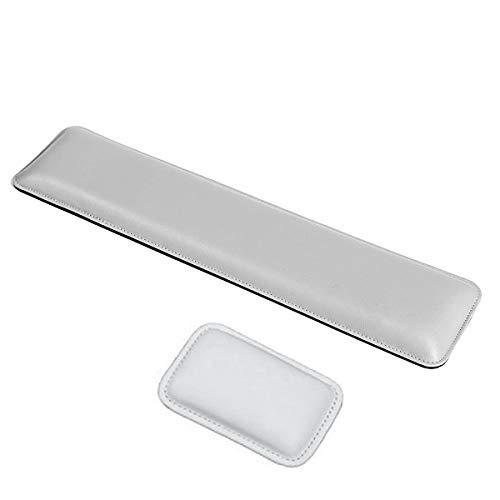 ASEOK PU-Leder-Tastatur-Handgelenkstütze, ergonomisches Handgelenkpolster mit Memory-Gel-Schaum für Computer/Notebook/Laptop, perfektes Entlastungswerkzeug für Büroarbeiter und Gamer