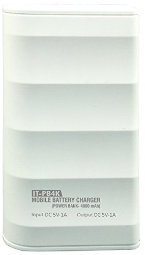 Intex PB-4K 4000mAH Power Bank (White)