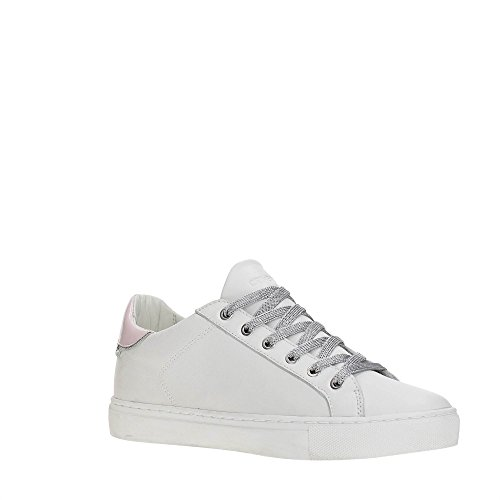 premium selection ff735 7b583 Crime 25219ks1 Sneakers Femme Blanc   Rose ...