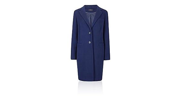 Marks & Spencer Damen Jacke Mantel Gr. 42, königsblau