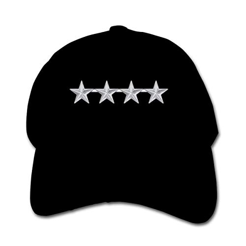 ADGoods Kids Children Army General Rank Insignia Baseball Cap Adjustable Trucker Cap Sun Visor Hat for Boys Girls Kinderbaseballmütze -