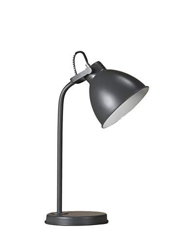 ONLI Oslo Tisch- / Tischlampe aus lackiertem Metall grau