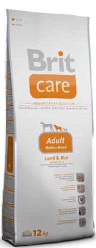 Brit Care Lamb und Rice Adult Medium Breed Hundefutter, 1er Pack (1 x 12 kg) -