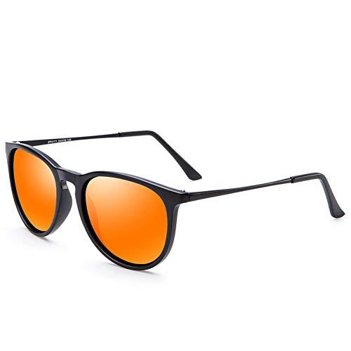 CCGKWW Damen Sonnenbrille Polarisierter Spiegel Markendesigner Spiegel Oculos Uv400 Fashion Sonnenbrille Für Damen Schwarz Einfache Schattierungen