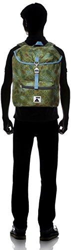 Confezione Poler Stuff Bag Field, Green Camo, 50 x 40 x 6 cm, 18 litri, POLBAG_FIE Verde - Brotanical Mossy