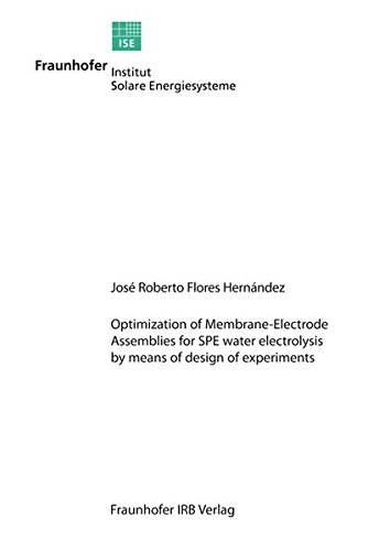Optimization of Membrane-Electrode Assemblies for SPE Water Electrolysis by Means of Design of Experiments.