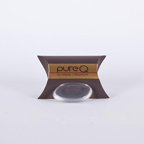 pureq silicone Beauty Éponge I le original I pour sparsamen et hygenischen application de maquillage, crèmes et visage masque
