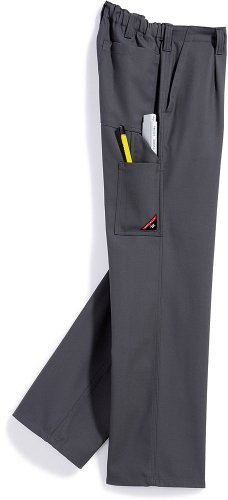 PANTALONES DE TRABAJO BP WORKWEAR 1469 COTTON PLUS GRIS OSCURO GR 44 – 64  90 – 114
