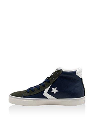 Converse Pro Leather Vulc, High Sneaker Man Azul / Verde Militar