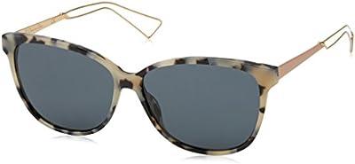 Christian Dior Diorconfident2 Bn, Gafas de Sol para Mujer, Hvna, 57