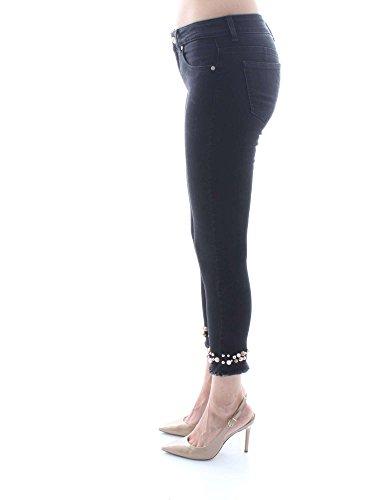 Manila Grace J334DU Pantaloni Donna Nero