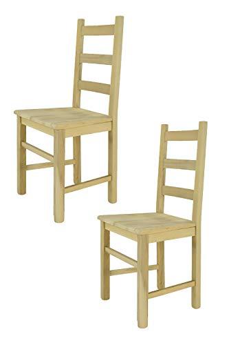 Tommychairs sedie di Design - Set 2 sedie Classiche Rustica ...