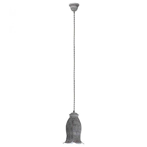 eglo-vintage-talbot-1-hangeleuchte-dunkelgrau-1x-e27