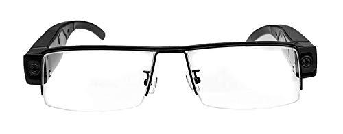 Kamerabrille Spionagebrille Version 2.0 FULL HD hochauflösend mit 5 Megapixel zur Aufnahme von Bildern und Videos mit Mikrofon, mini Videokamera, mini Digitalkamera von Kobert- Goods