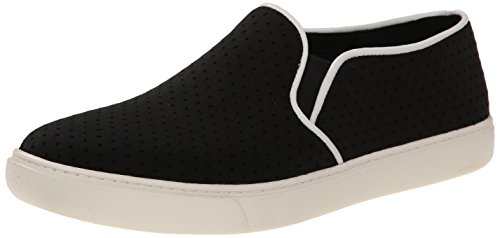 Cole Haan Bowie Slip-on Fashion Sneaker Black Perforated Textile