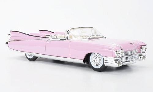 cadillac-eldorado-biarritz-rosa-1959-modello-di-automobile-modello-prefabbricato-maisto-118-modello-