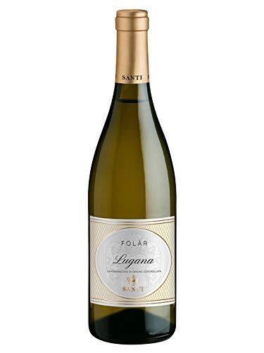 FOLAR Lugana DOC - Santi - Vino bianco fermo 2018 - Bottiglia 750 ml