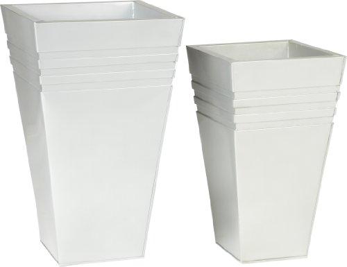 Pot zinc cm for Interieur zinc