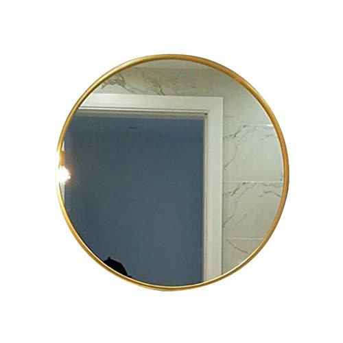 Miroirs Color : Gold, Size : 70 * 70 * 5cm