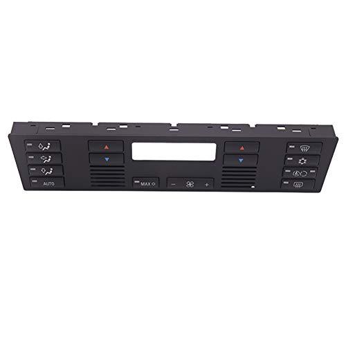 szdc88 Schalter Tastensatz Belüftung ABS Klimatisierung Protector Ersatz Heizung Teile Autozubehör Innenraum Klimaanlage Panel Reparatur Durable für E39 E53 X5 -