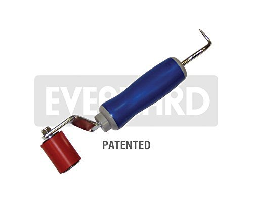 MR12120 Everhard Nylon Double-end Screen Roller Concave//Convex Everhard Products