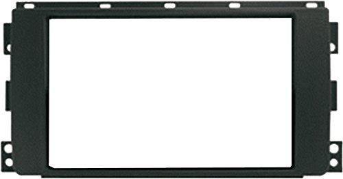 Mascherina montaggio autoradio 2 din per SMART FOR TWO dal 2007 al 2010.