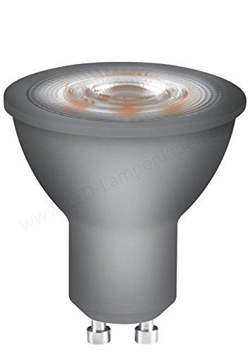 OSRAM LED-Reflektorlampe GU10 Star PAR16 / 5W - 50 Watt-Ersatz, LED-Spot, Abstrahlungswinkel 36° / warmweiß - 2700K, 6er Pack (6-er) -
