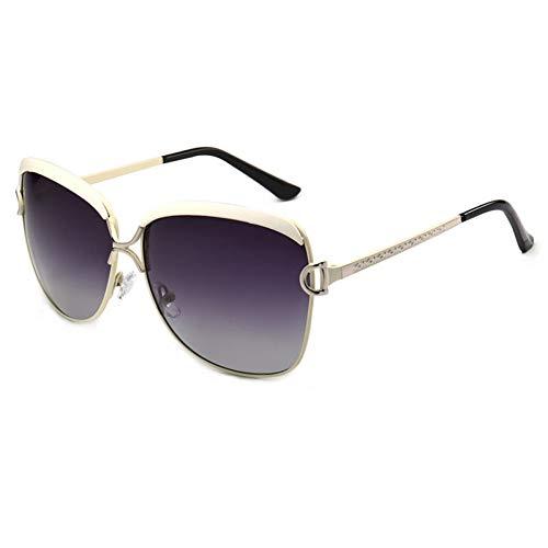 SUNNYJ Sonnenbrille Damen-Sonnenbrillen-Frauen-Brillen-Weibliches Retro Art Und Weise Polarisierte Sun-Glas Femme 3