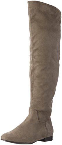 Aldo Arabia, Women's Long Boots, Grey (Grey/12), 4.5 UK (37 1/2 EU)
