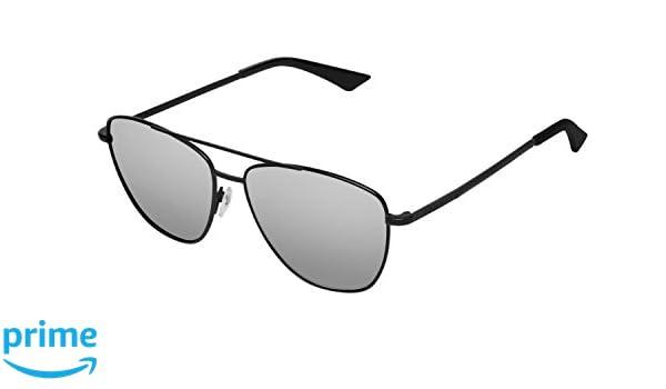 Unisex Adults AF02 Sunglasses, Black (Negro/Gris Espejado), 60 Hawkers