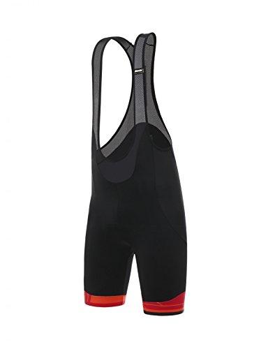 Santini Herren Ace Bib Shorts, Herren, FS1075GITACE, rot, xxxl