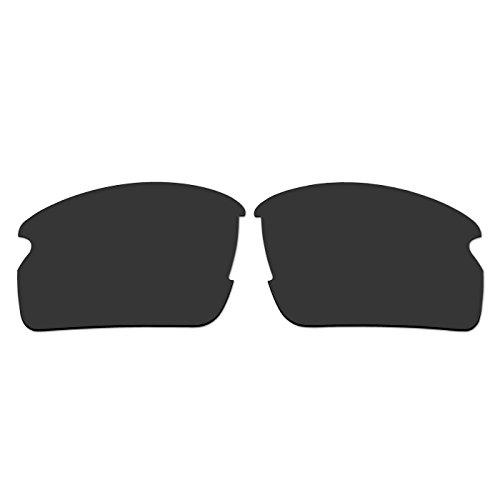aCompatible Ersatz-Objektive für Oakley Flak 2.0Sonnenbrille oo9295(nicht fit Flak 2.0XL), Black - Polarized
