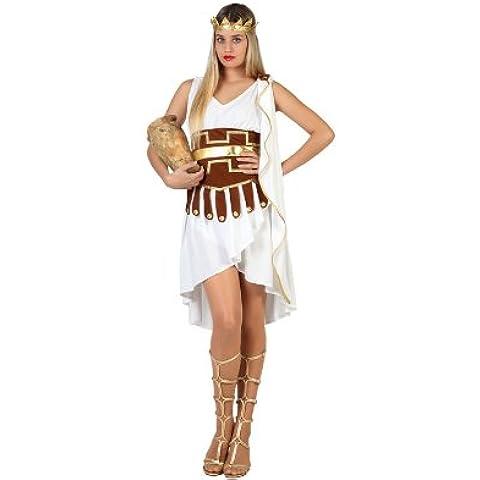 Atosa - Disfraz de romana para niña, talla M/L (22820)