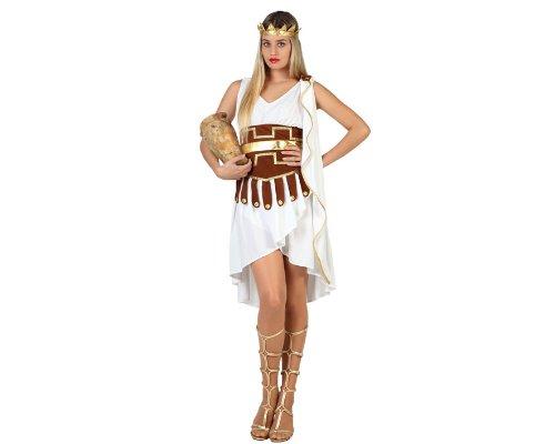 Atosa 22819 - Artemis Kostüm, Größe XS-S, weiß
