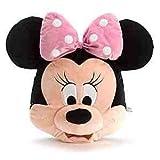 Offizielle Disney Minnie Mouse 46cm große Gesicht Kissen weichen Plüsch