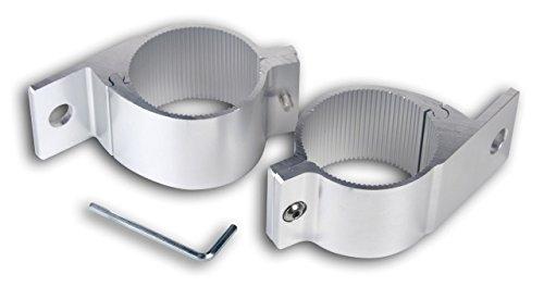 2x Rohrschelle für Scheinwerfer für Rohrdurchmesser von 75 bis 78mm.