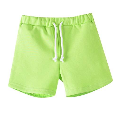 Sommer Baby Jungs Mädchen Süßigkeiten Solide Kurz Hose - Häkeln Baby Strickjacke