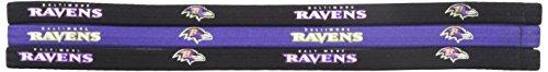 NFL Elastic Haarband, herren, Baltimore Ravens, .5