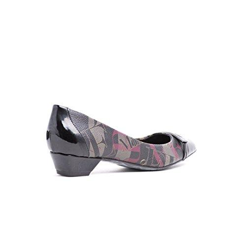 FERRE Milano Luxus Original Damen Schuhe - Made in Italy Bordeaux