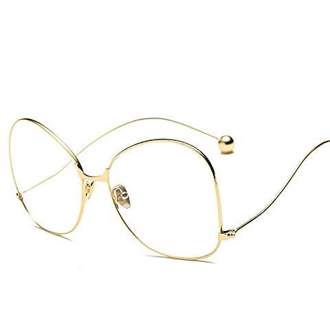 XXFFH®Sunglasses Sunglasses Männer Und Frauen Gemeinsam Ohne Rezept Metallrahmen Plain