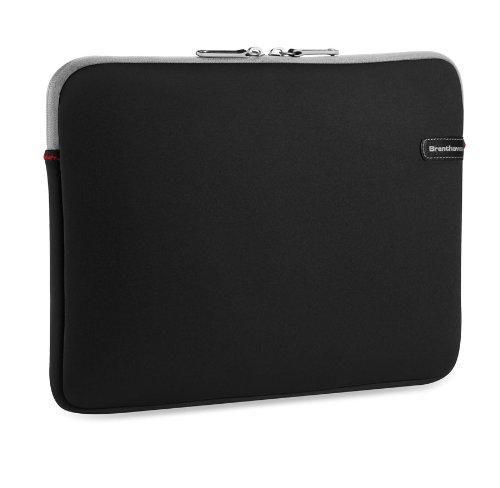 Brenthaven Laptop-taschen (Brenthaven 5102101 Ecco-prene III Sleeve für Tablet/Laptop/Apple MacBook bis 17 Zoll schwarz)