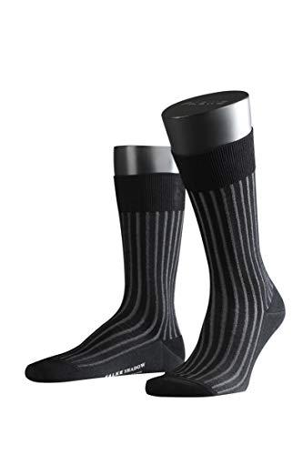 FALKE Herren Socken 14648 Shadow Business SO (Weitere Farben), Grau, 45/46 - Vogue Herren Muster