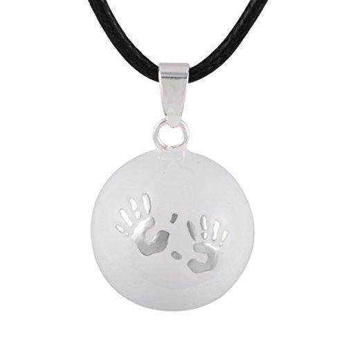 Bébé pendentifs main collier bijoux de maternité bijoux musicale meilleure balade